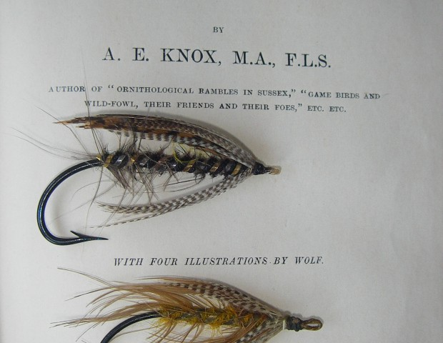 Antique spey flies