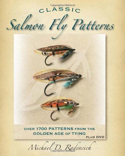 Classic salmon fly patterns - Mike Radencich