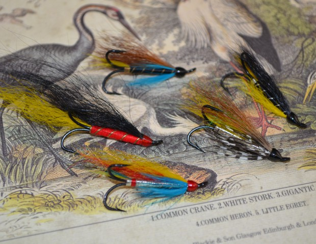 Davy Wotton salmon flies