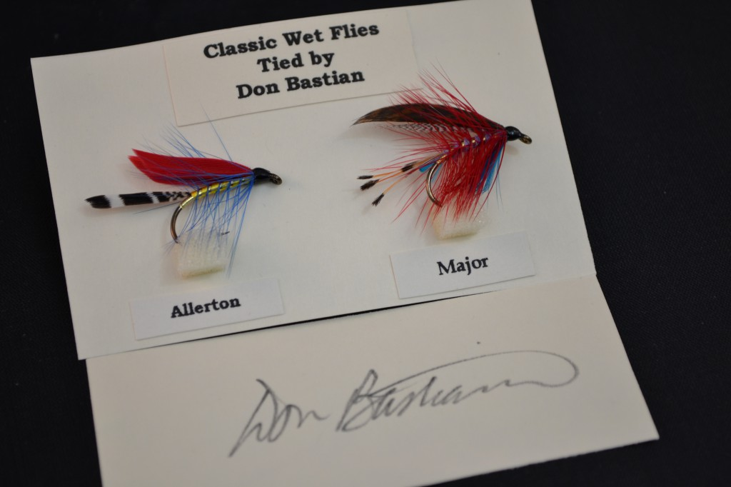 Don Bastian wet flies