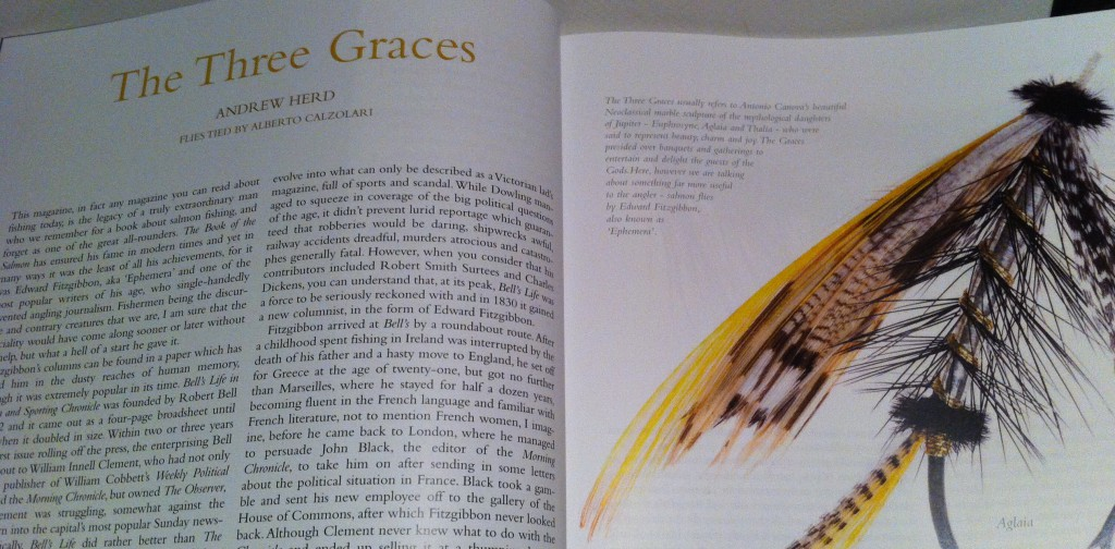 Dr. Herd article on Three Graces
