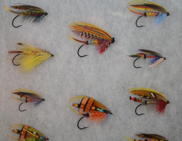Flies tied for Mike Radencich book