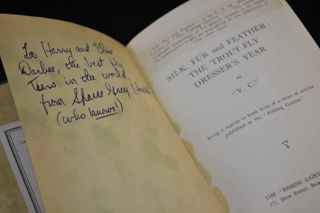 From the library of Harry Darbee
