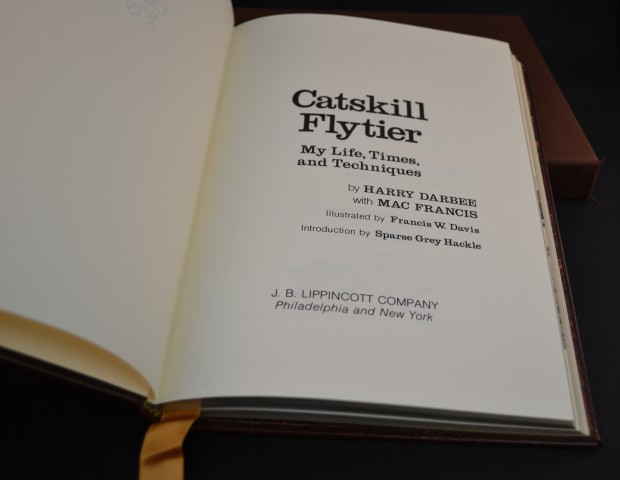 Harry Darbee's personal copy of limited edition
