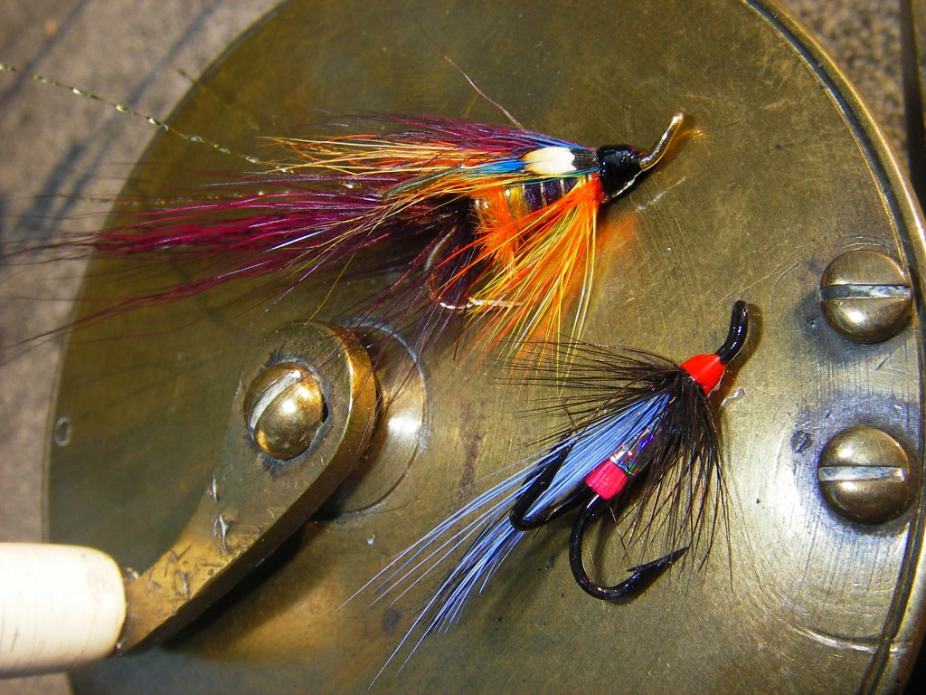 Jimmy Younger flies on treble hooks