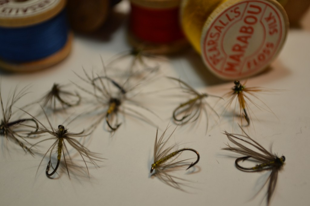 North Country Style wet flies