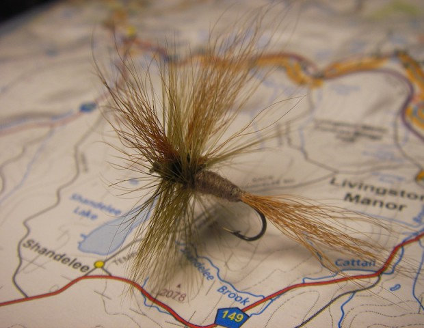 Original fly tied by Lee Wulff