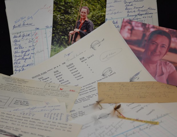 Original notes and letters from Helen Shaw estate