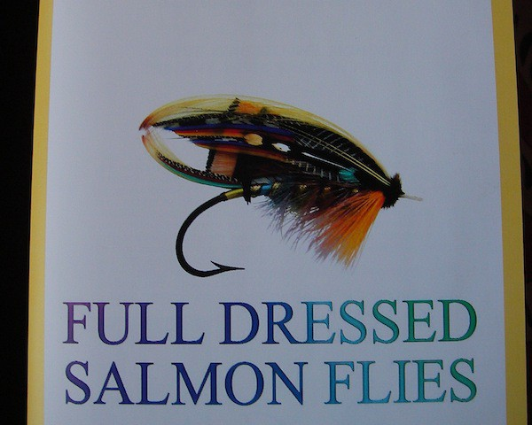 This is the leaflet of the first class on salmon flies organized in Italy by me together with Fabrizio Gajardoni