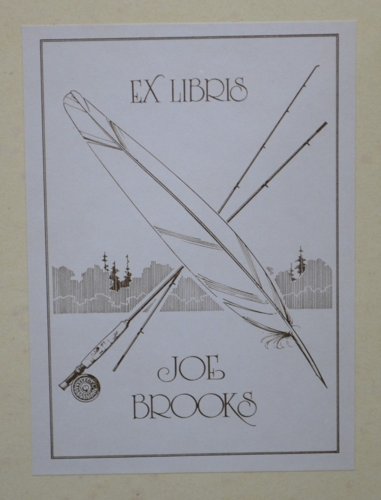 Joe Brooks book plate