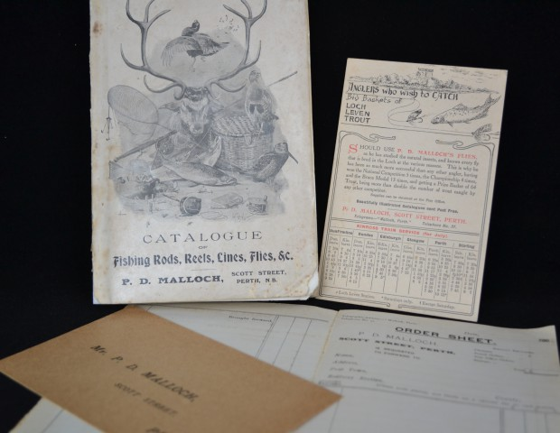P.D. Malloch Catalogue complete with Order sheet, pre printed pouch and train table