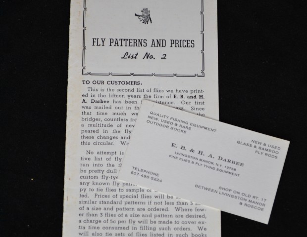 Darbee Catalogue and business card